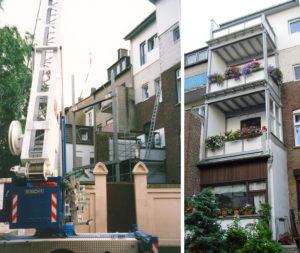 Holzbau Stocks – Balkonbau