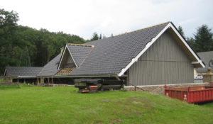 Holzbau Stocks – Montage Scheune